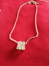 Small letter M pendant.charm  Marcasite style