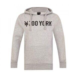 Zoo York Herren Street Hoody Hoodie Sweat Shirt Kapuzen Pullover grau