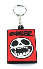 Rock Keychain GORILLAZ New! Rubber Keyring Key Chain (On Melancholy Hill ) AA246
