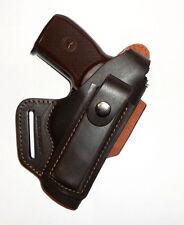 Makarov, Walther PPK waist belt (OWB) gun holster, genuine leather RH    s2818br