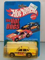 Vintage Hot Wheels The Hot Ones Taxi 5181 Yellow USA Service Die-Cast Metal