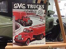 1947 GMC Truck Special Tractor Models Original Sales Brochure