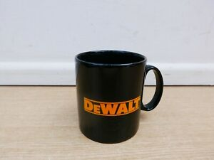 EARTHENWARE POTTERY COFFEE TEA MUG WITH DEWALT LOGO