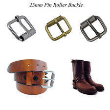 25mm Square Metal Roller Pin Belt Buckle for Strapping Bag Collar Leather-craft