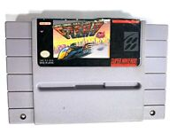 ****F-ZERO Super Nintendo SNES Game TESTED Working & AUTHENTIC****