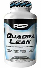 RSP Nutrition QUADRALEAN 150 Caps Fat Burner CLA lean hydroxycut mode FREE POST