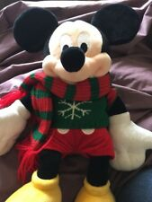 Micky Mouse Winter 2009 Teddy Great Condition