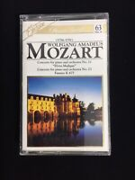 Excelsior Classic Gold Wolfgang Amadeus Mozart  Concerto #21, 23 Cassette Tape