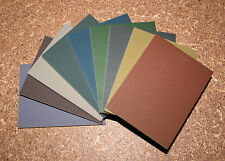 "Foam-backed, double sided sanding pads - 105x80mm (~3""x4"")"