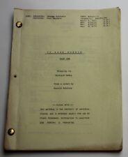 Harold Robbins' 79 Park Avenue * 1977 TV Mini Series Script * Lesley Ann Warren