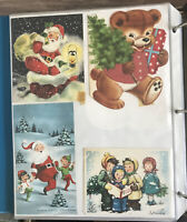 Vintage Scrapbook Cards Cutouts Lot Of Over 350-Xmas/Easter/Valentines Etc.