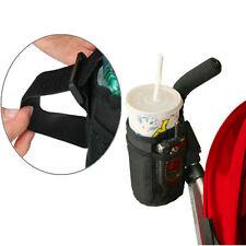 Stroller Insulated Cup Holder Drink Keys Phone Holder Pram Straw Organizer Bag