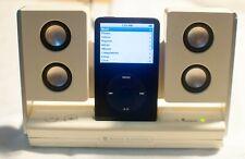 iPod 5th Generation 30GB Digital Player - Black + Altec Lansing speaker dock