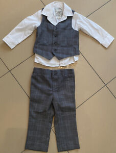 Monsoon Baby Boy Kids 3 Piece Suit Age 12-18 Months