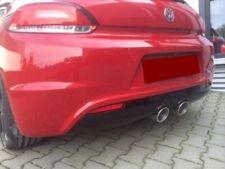 Sportauspuff Heckschürze Diffusor Auspuff Scirocco r32 VW R Heckansatz Stoßstang
