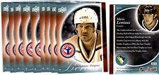1X MARIO LEMIEUX 2010-11 UD Hockey Card Day #HCD12 Bulk Lot Available Heroes