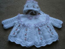 BABY OR REBORN LACE AND BOWS KNITTING PATTERN