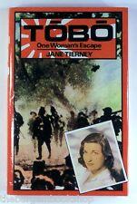TOBO One Woman's Escape JANE TIERNEY (1985) - HARDBACK - 1st Edition