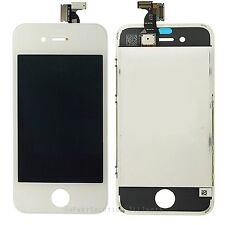 White iPhone 4 LCD Display Touch Screen Digitizer Glass Lens Assembly