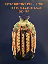 livre d'art Louis DAGE céramique état neuf