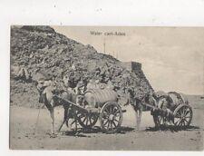 Water Cart Aden Postcard Benghiat 616a
