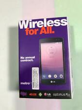 New Metro PCS LG MS395 Optimus F60 Black TMUS KIT