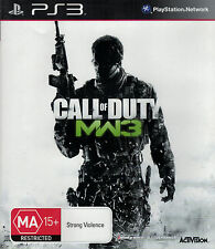 Call of Duty Modern Warfare 3, MW3, Sony Playstation 3, PS3 Game, USED