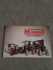 Mamod Steam Models Catalogue