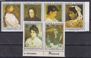 st.thomas & prince 1982 Sc 683 picasso paintings,set MNH    @1