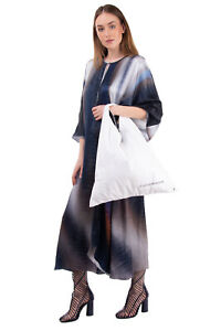 RRP €320 MM6 MAISON MARGIELA Japanese Hobo Bag Large Printed Logo Made in Italy