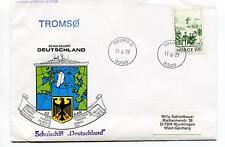 1979 Schulschiff Deutschland Kiel Montreal Tenerife TROMSO Polar Antarctic Cover