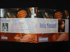 RARE CD HOLLY MAXWELL / LIVE AT QUAI DU BLUES /