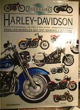 Légendaires HARLEY-DAVIDSON - Tous les modèles - Motos