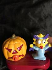 HALLOWEEN Simpsons 2001 Burger King Spooky Light-Ups Maggie Simpson STILL WORKS!