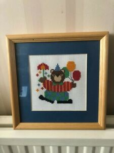 TEDDY BEAR with balloons and Umbrella tapestry picture - nursery