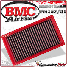 FILTRE À AIR BMC SPORTIF LAVABLE FM167/01 GILERA NEXUS 500 2003 2004 2005
