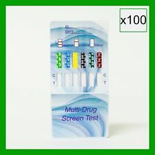 100 Pack 12 Panel Home Drug Testing Kit - Drug Tests 12 Drugs - Free Shipping!