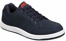 Mens Brand New Blue Lace Up Canvas Casual Trainers Size 6 7 8 9 10 11 12