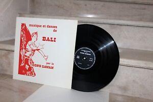 LP musique et danses de bali par le gong sawan
