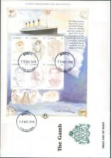 1998 Gambia Remembers The Titanic First Day Cover
