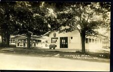 MAINE, ME, FARMINGTON, STANWOOD PARK, TEA ROOM,  RPPC, UNUSED,   (109