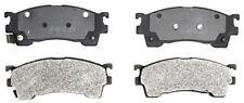 Disc Brake Pad Set-Semi Metallic Disc Brake Pad Front ACDELCO PRO DURASTOP