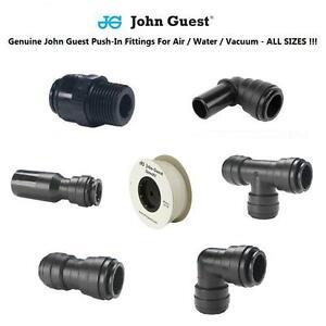 Pneumatic Fittings John Guest Tube & Hose & Pipe 4 6 8 10 12 Air Water NATURAL