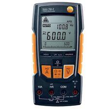 TESTO 760-2 DIGITAL MULTIMETER TRUE RMS 0.1mV to 600V AC/DC AUTO DETECT TESTING