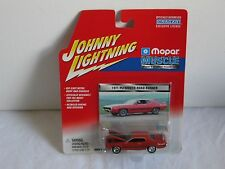 Johnny Lightning Mopar 1971 Plymouth Road Runner Model 1:64, New