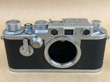 LEICA IIIF Red Dial Sel Timer Vintage Camera Body # 698362 - Works Great