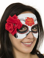 Mexican Day of the Dead Mask Halloween Fancy Dress Costume Children or Adult