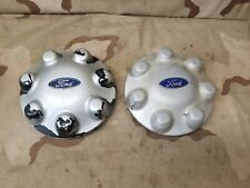 (2) 1997 1998 1999 Ford FSuperDuty Super Duty 7 Lug OEM Center Cap 97 98 99