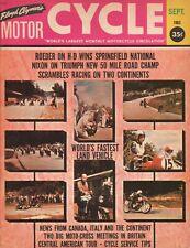 1963 September Cycle - Vintage Motorcycle Magazine