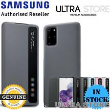 GENUINE Original Samsung Galaxy S20 S20+ S20 Ultra CLEAR VIEW Cover Flip Case